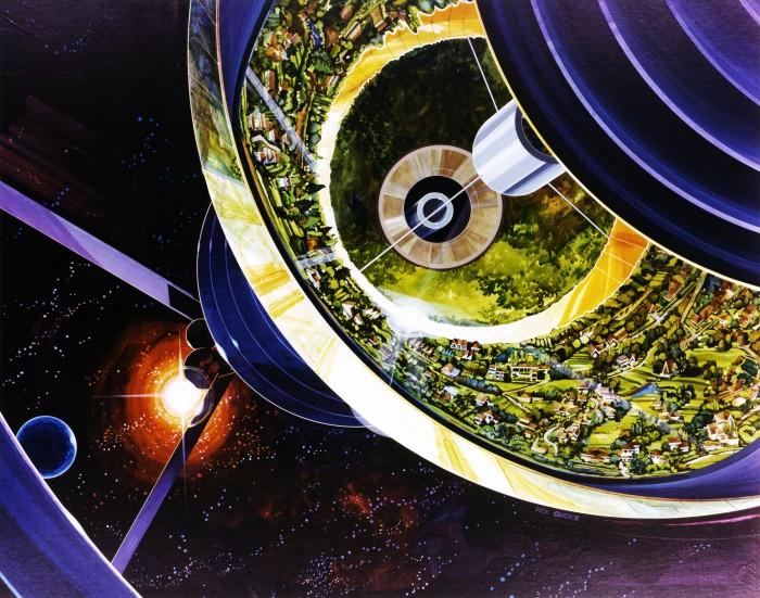 Des colonies dans l'espace ! By Laboiteverte Colonie-espace-nasa-15-700x551