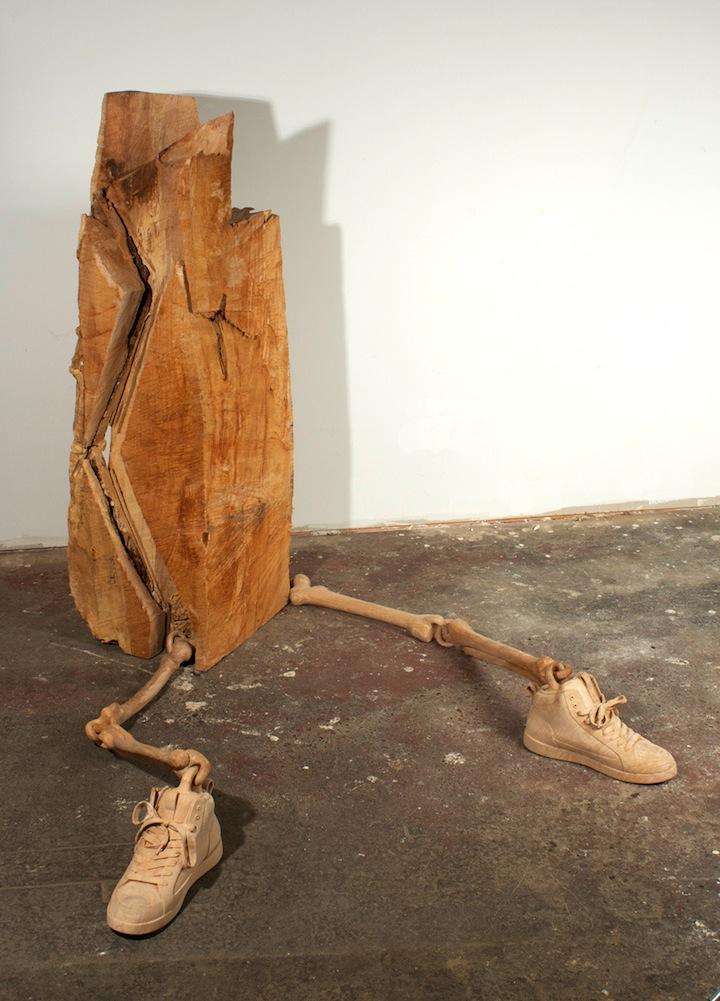 sculpture bois 01 Des sculptures en bois sculpture bonus art