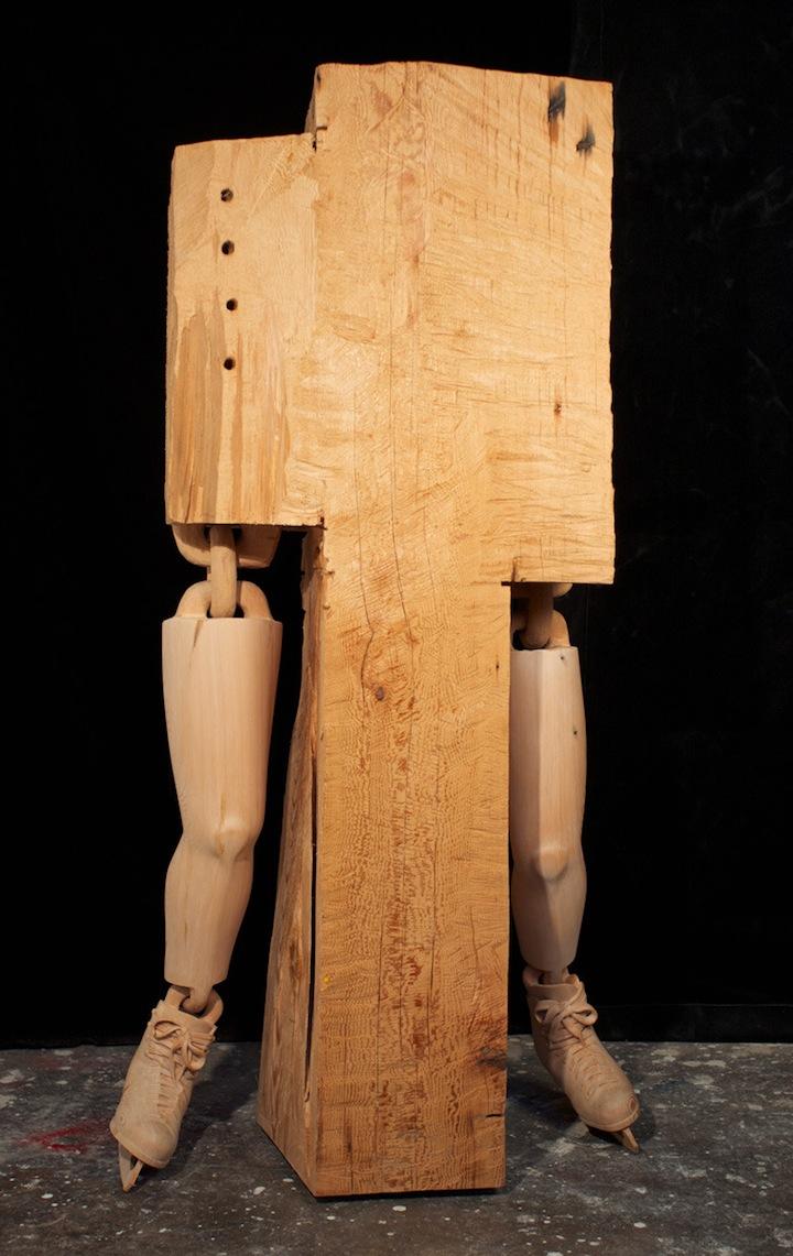 sculpture bois 03 Des sculptures en bois sculpture bonus art