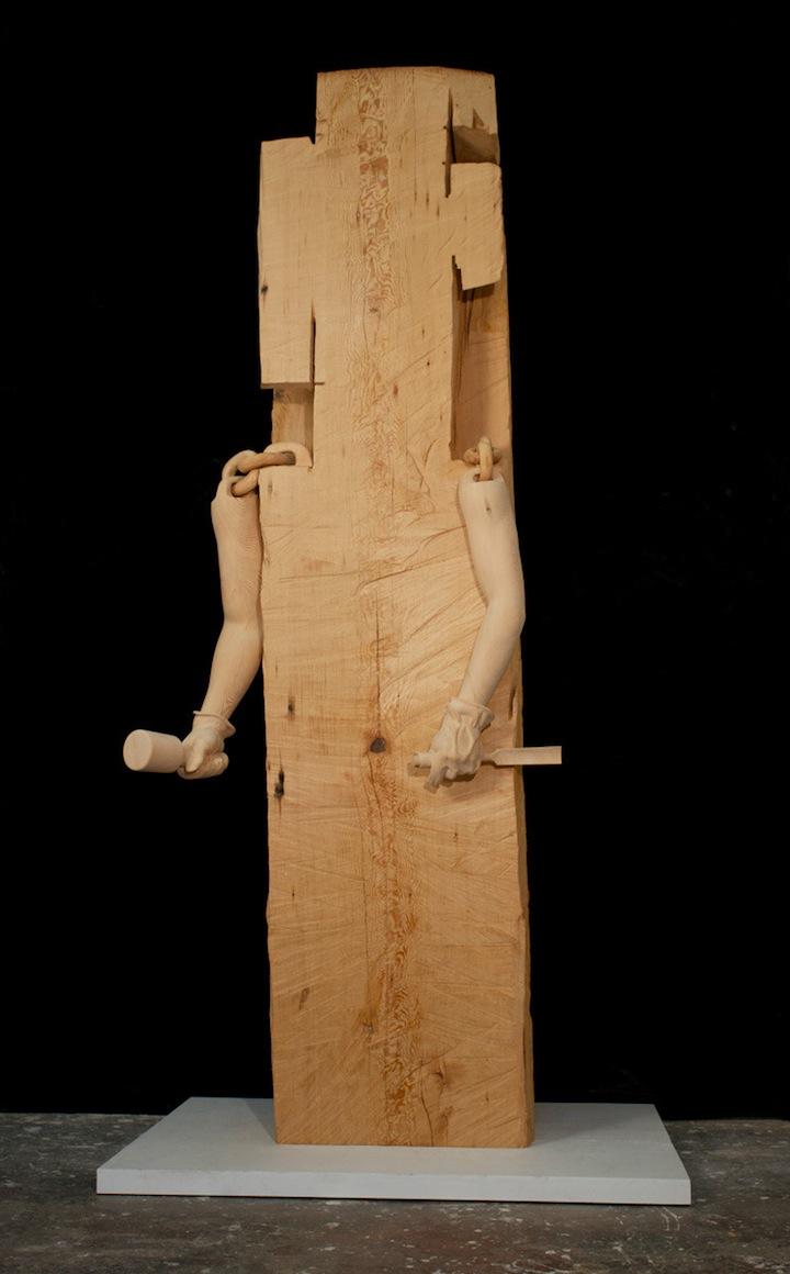 sculpture bois 05 Des sculptures en bois sculpture bonus art