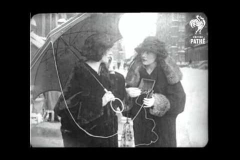 Un téléphone portable en 1922