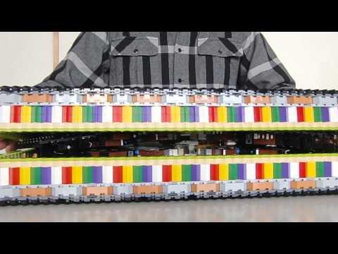 Des constructions en Lego pliantes