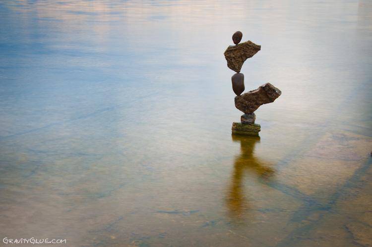 tas cailloux pierre equilibre 02 Des tas de cailloux  divers bonus art