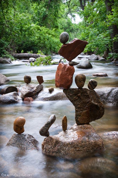 tas cailloux pierre equilibre 04 Des tas de cailloux  divers bonus art