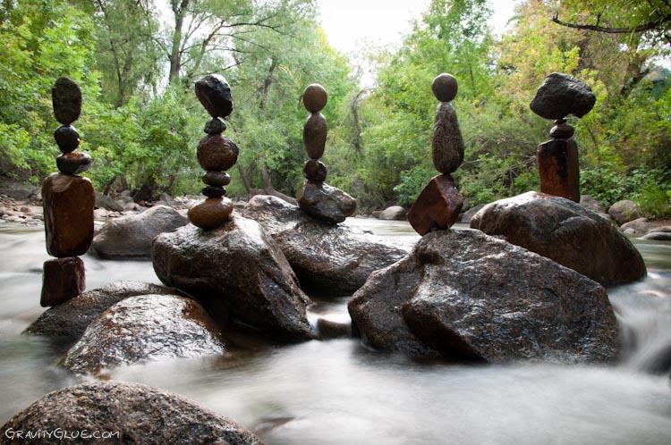 tas cailloux pierre equilibre 07 Des tas de cailloux  divers bonus art