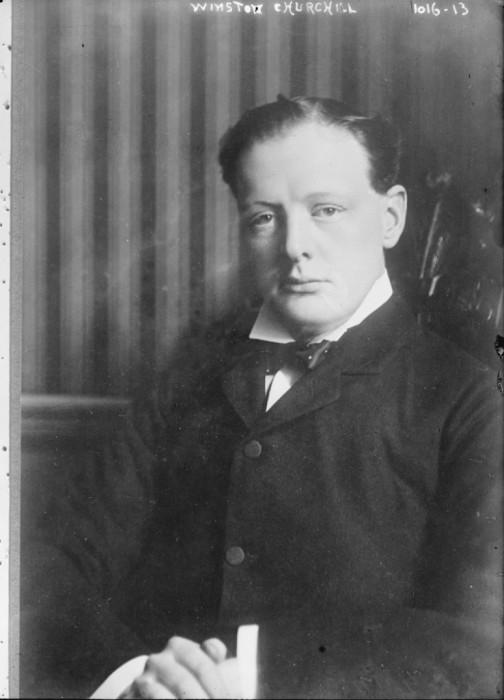 Winston Churchill (Library of Congress).