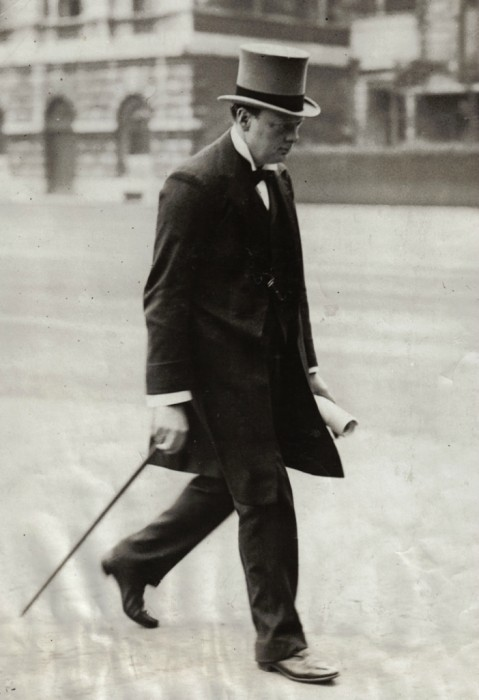 Churchill as First Lord of Admirality (National Archives).
