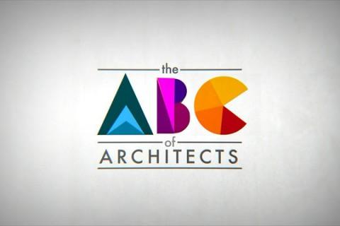 L'alphabet des architectes