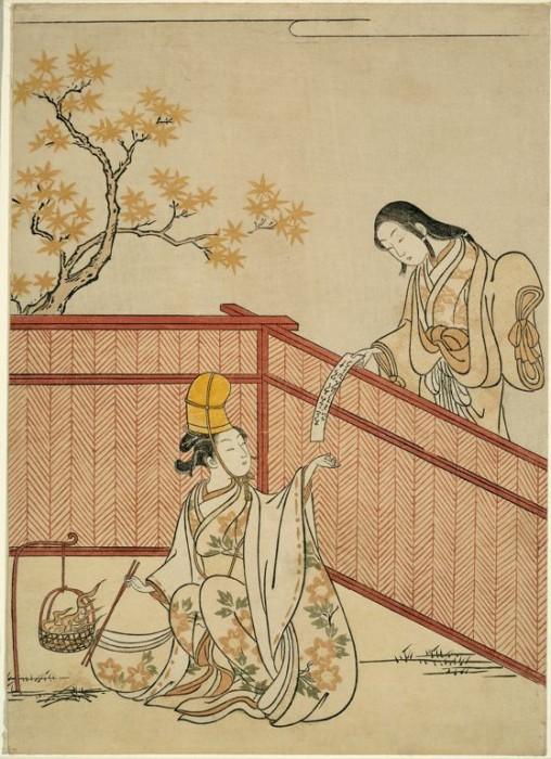 Ukiyo e 04 508x700 Ukiyo e, estampes japonaises gravées sur bois