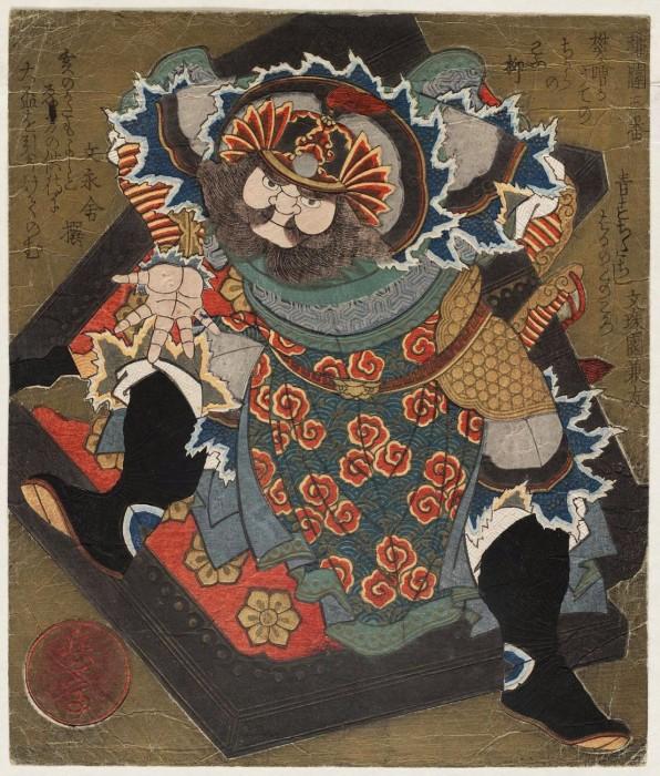 Ukiyo e 07 596x700 Ukiyo e, estampes japonaises gravées sur bois