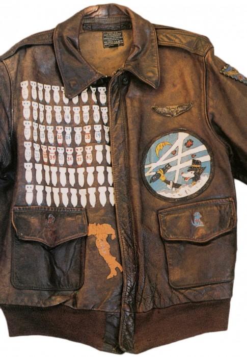 blouson aviateur cuir seconde guerre 03 485x700 Blousons en cuir daviateurs de la Seconde Guerre Mondiale