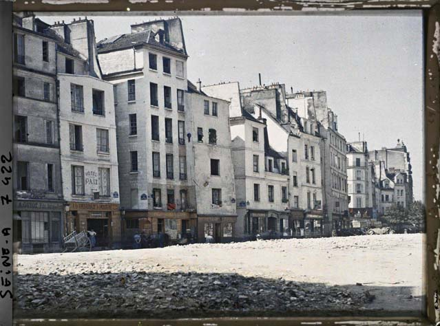paris couleur 1900 albert kahn 051 Photos de Paris en couleur en 1900