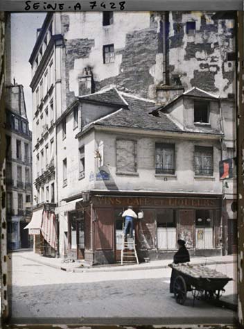 paris couleur 1900 albert kahn 081 Photos de Paris en couleur en 1900
