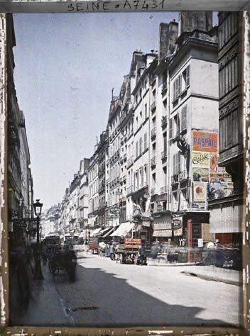 paris couleur 1900 albert kahn 091 Photos de Paris en couleur en 1900