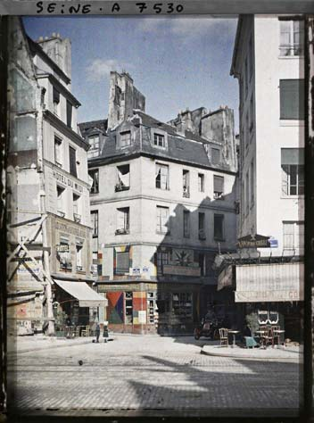 paris couleur 1900 albert kahn 151 Photos de Paris en couleur en 1900
