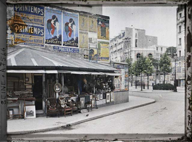 paris couleur 1900 albert kahn 161 Photos de Paris en couleur en 1900