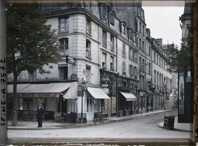 paris couleur 1900 albert kahn 181 Photos de Paris en couleur en 1900