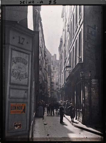 paris couleur 1900 albert kahn 211 Photos de Paris en couleur en 1900