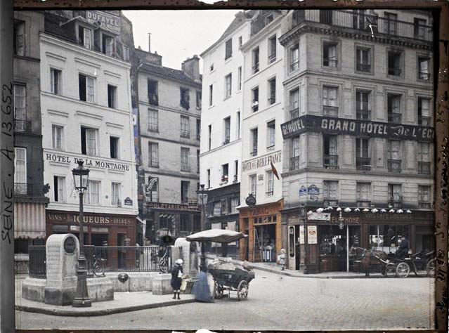 paris couleur 1900 albert kahn 221 Photos de Paris en couleur en 1900