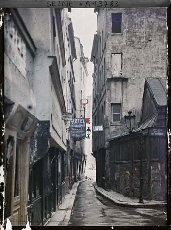 Paris (IVe arr.) par Georges Chevalier ©Musée Albert-Kahn - Département des Hauts-de-Seine