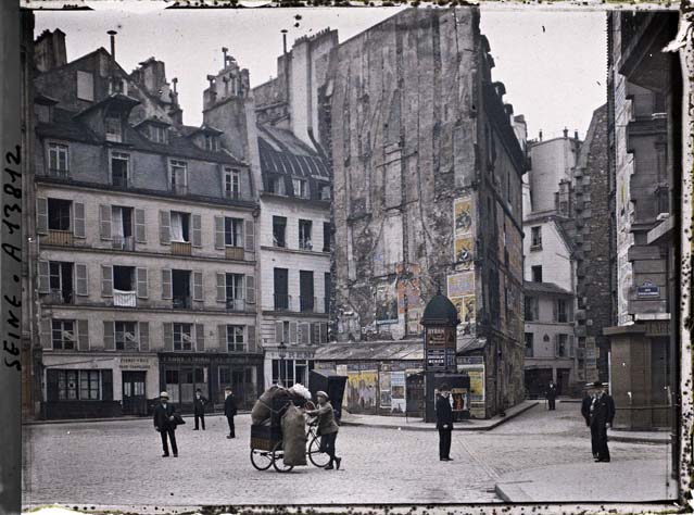 paris couleur 1900 albert kahn 261 Photos de Paris en couleur en 1900