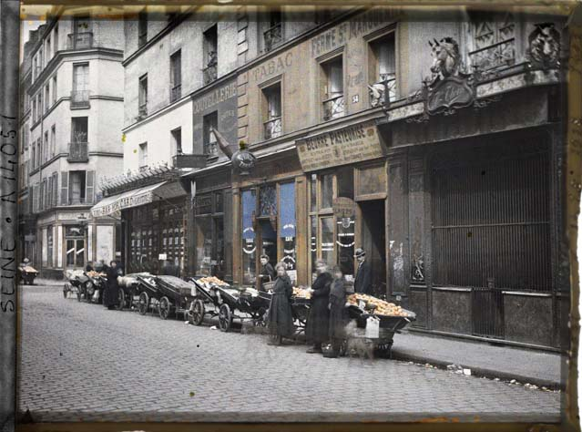 paris couleur 1900 albert kahn 291 Photos de Paris en couleur en 1900