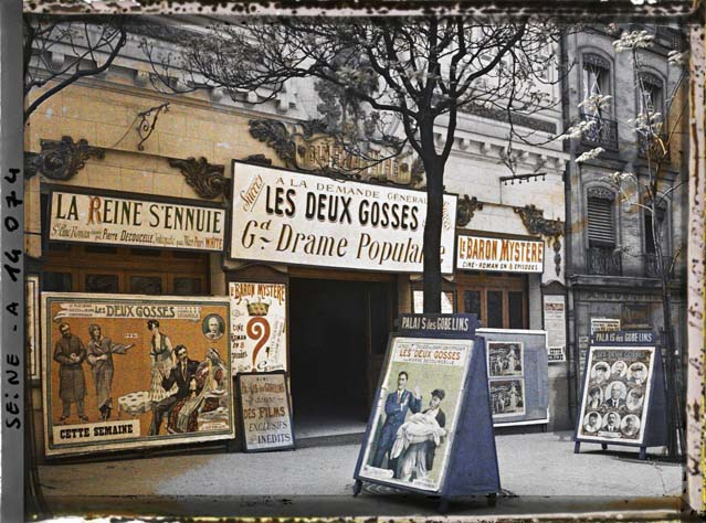 paris couleur 1900 albert kahn 311 Photos de Paris en couleur en 1900