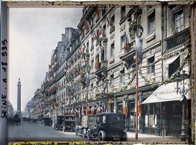 paris couleur 1900 albert kahn 351 Photos de Paris en couleur en 1900