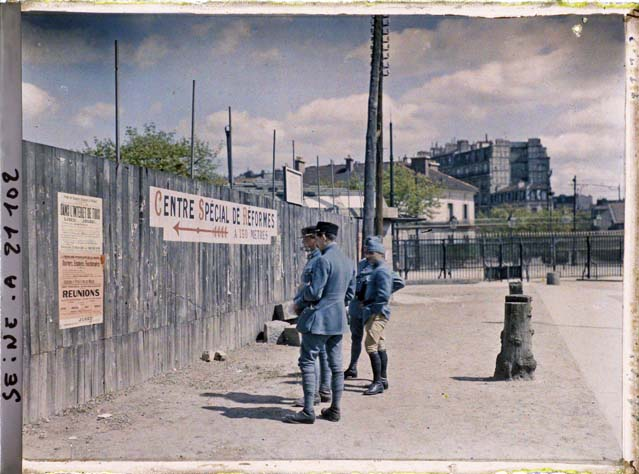paris couleur 1900 albert kahn 38 Photos de Paris en couleur en 1900