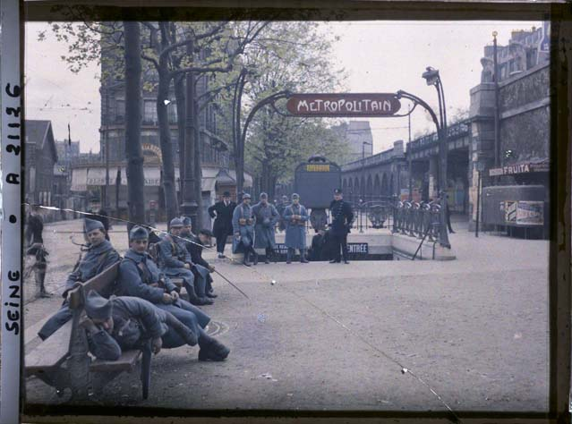 paris couleur 1900 albert kahn 39 Photos de Paris en couleur en 1900