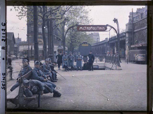 Paris (XVIe arr.) par Frédéric Gadmer ©Musée Albert-Kahn - Département des Hauts-de-Seine