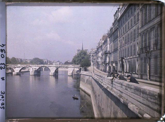 paris couleur 1900 albert kahn 411 Photos de Paris en couleur en 1900