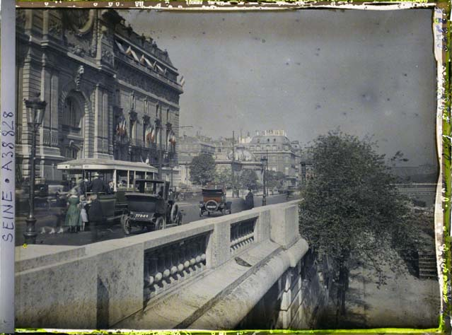 paris couleur 1900 albert kahn 421 Photos de Paris en couleur en 1900