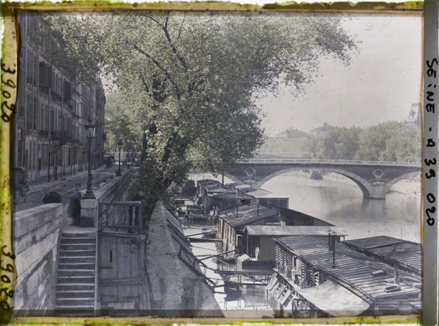 paris couleur 1900 albert kahn 441 Photos de Paris en couleur en 1900