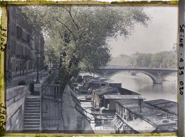 Paris (IVe arr.) par Auguste Léon ©Musée Albert-Kahn - Département des Hauts-de-Seine