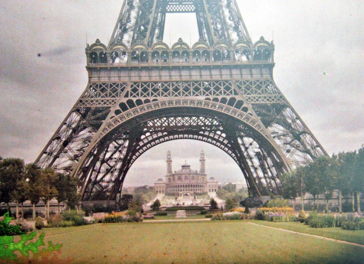 photo Paris couleur 1900 29 720x522 Photos de Paris en couleur en 1900