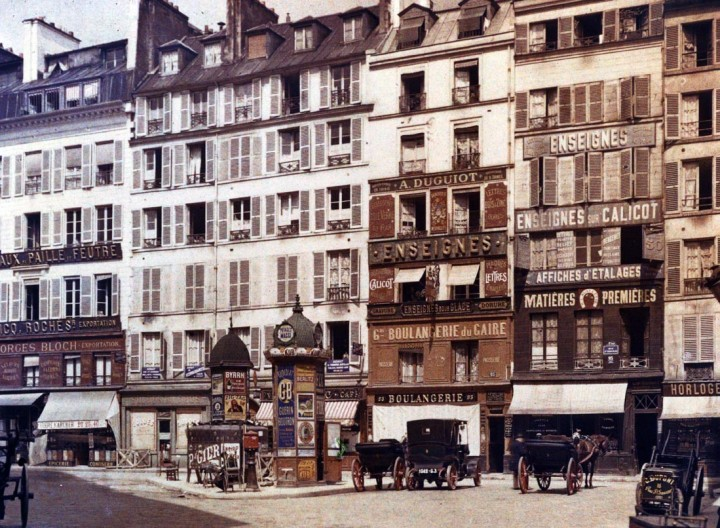 photo Paris couleur 1900 33 720x528 Photos de Paris en couleur en 1900