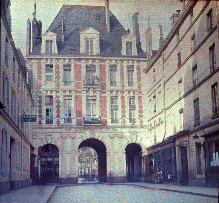 photo Paris couleur 1900 38 720x667 Photos de Paris en couleur en 1900