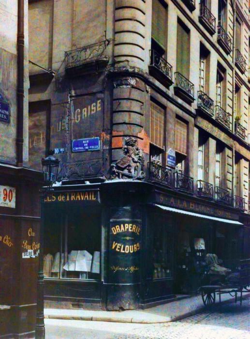 photo Paris couleur 1900 58 517x700 Photos de Paris en couleur en 1900
