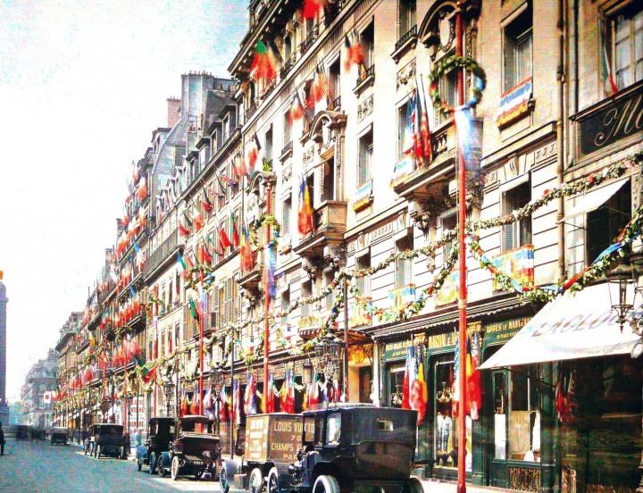 photo Paris couleur 1900 59 720x552 Photos de Paris en couleur en 1900