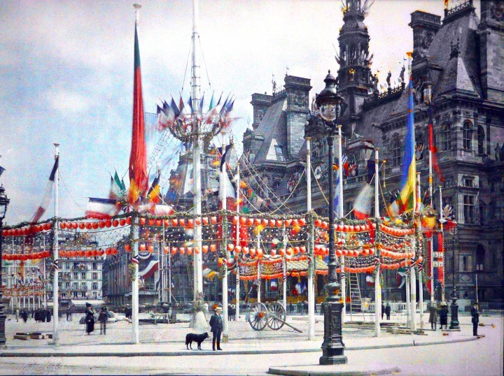 photo Paris couleur 1900 60 720x538 Photos de Paris en couleur en 1900