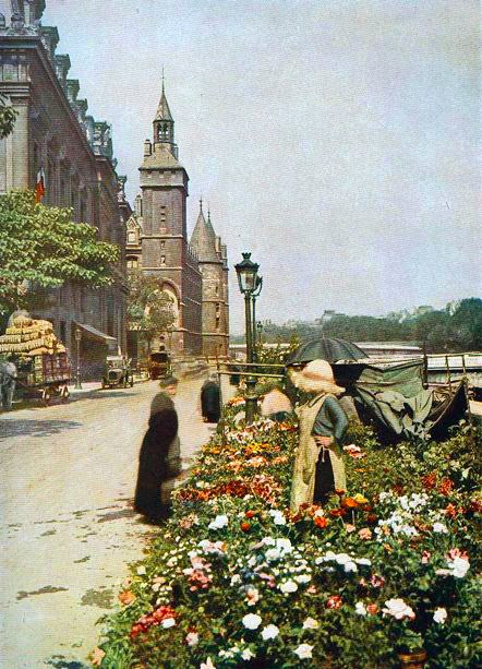 photo Paris couleur 1900 63 Photos de Paris en couleur en 1900