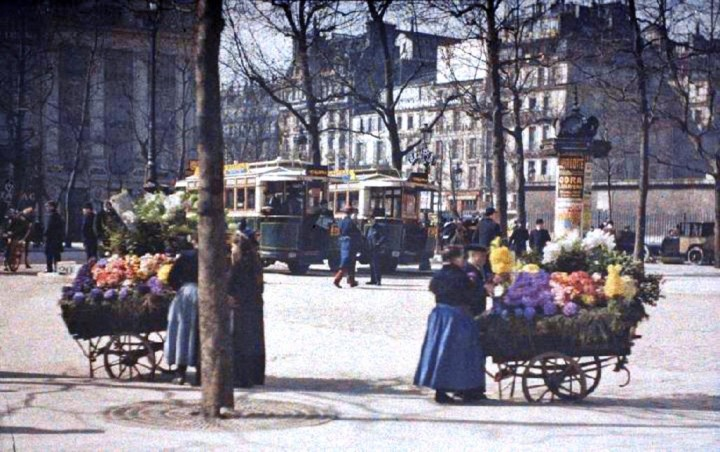 photo Paris couleur 1900 72 720x452 Photos de Paris en couleur en 1900
