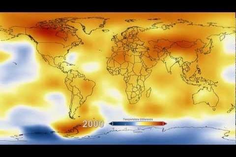 62 ans de changement climatique en 13s