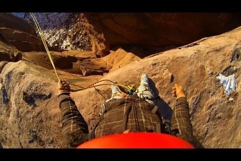 Une corde, un canyon et 125m de chute libre