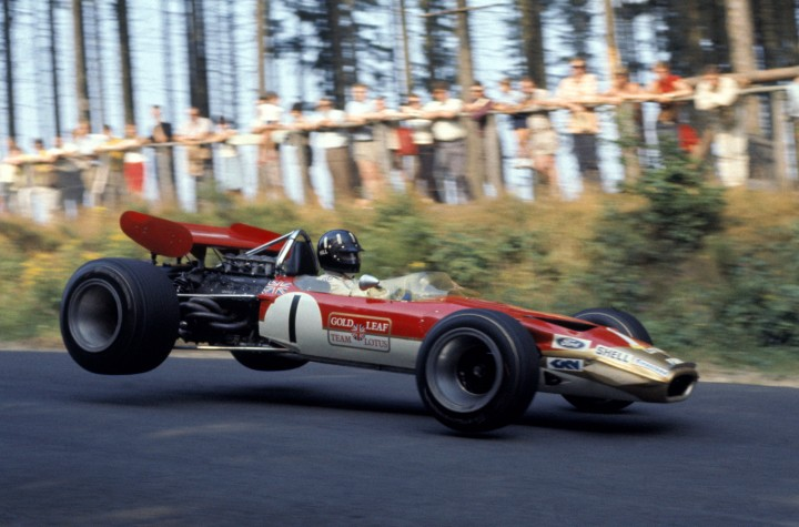 Lotus Gold Leaf 1969