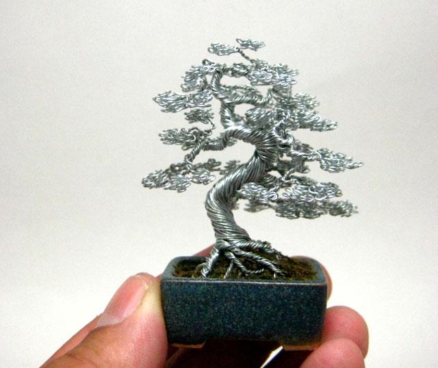 bonzai fil de fr er 10 Des bonsaïs en fil de fer  divers bonus art