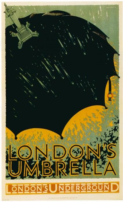 londres london metro undergroud affiche poster 04 425x700 150 ans daffiches du métro de Londres