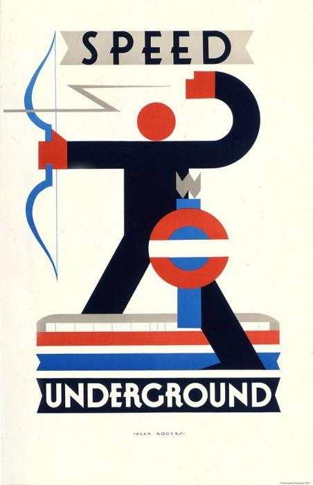 londres london metro undergroud affiche poster 09 452x700 150 ans daffiches du métro de Londres
