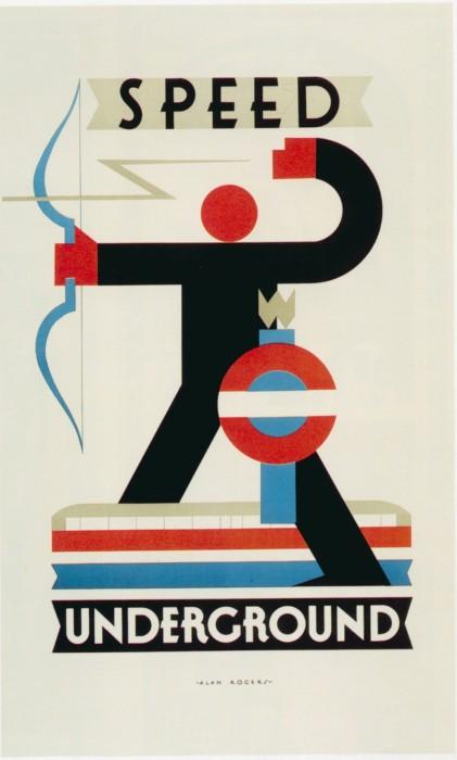 londres london metro undergroud affiche poster 17 421x700 150 ans daffiches du métro de Londres